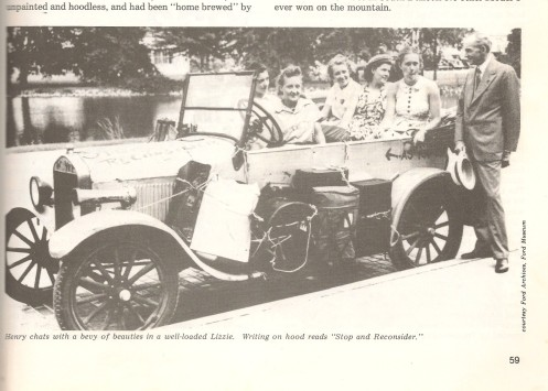 1938, Gypsy Coeds with Henry Ford in Dearborn