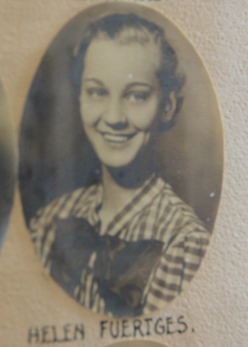Helen Fuertges graduated from Bradford High School in the class of 1934.  Clare Breen also graduated in the same class.