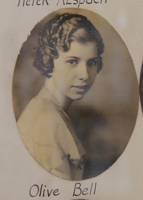 Olive Bell, Class of 1933, Bradford High School