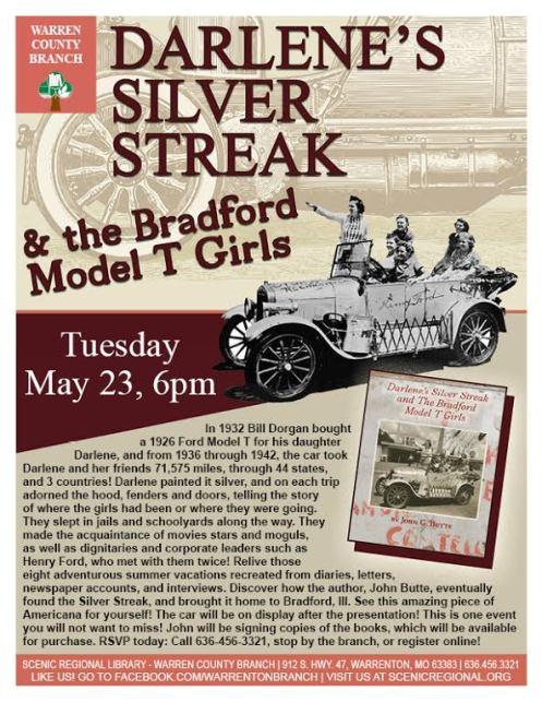 darlenes silver streak flyer